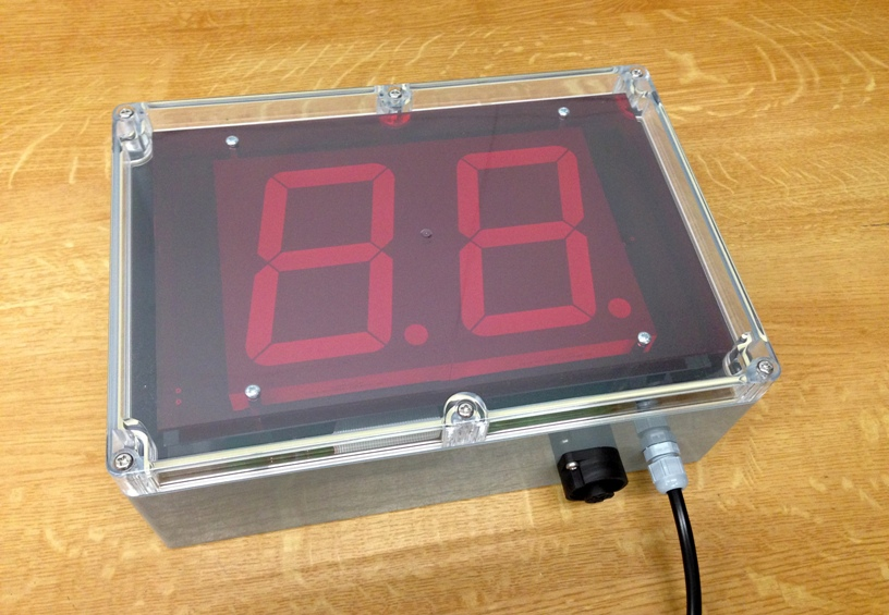 Industrial Counter Display 2 Digits